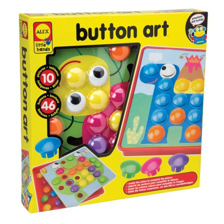Alex Toys Dunk (ALEX Toys Little Hands Button Art )