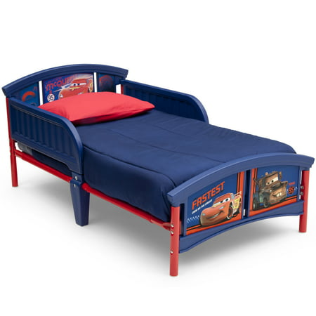 cars bedroom set. Disney Pixar Cars Plastic Toddler Bed  Walmart com