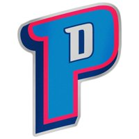 "Detroit Pistons WinCraft 5"" x 2.5"" Auto Emblem Decal"