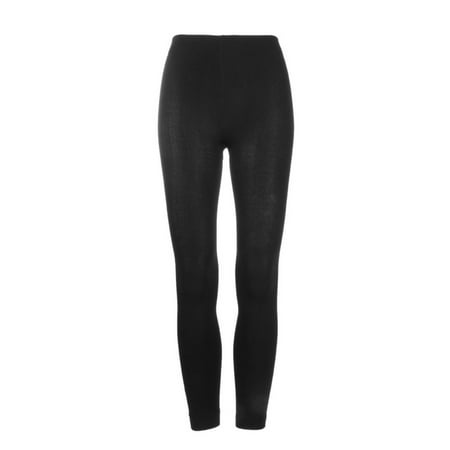 78b710d6d9fe8 Women Warm Thick Footless Tights Skinny Slim Leggings Stretch Pants Coffee  - image 1 of 9 ...
