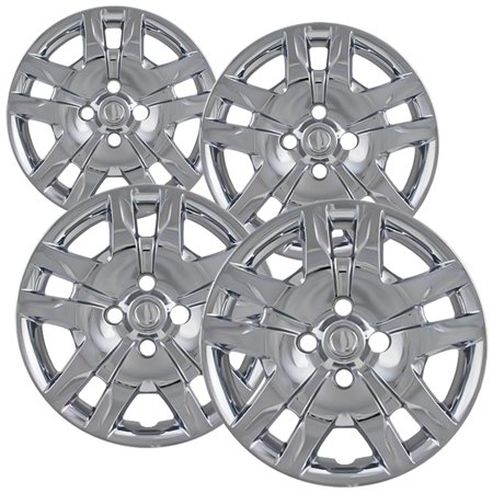 "16"" inch Chrome Wheel Covers for 2012-2015 Nissan Sentra - Set of 4"