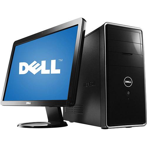 """Dell Inspiron i570-5567NBK Piano Black All-in-One Desktop PC with Intel Pentium Dual-Core E6700 Processor, 4GB Memory, 23"""" Monitor, 1TB Hard Drive and Windows 7 Home Premium"""