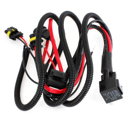 Hid Relay Harness (9006 9005 HID Xenon Conversion Kit Relay Wiring Harness 40A DC 12V )