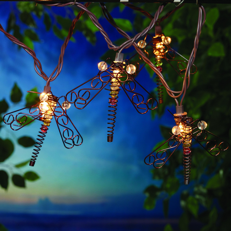 Mainstays 20 (10x2) Ul Metal Dragonfly String Light
