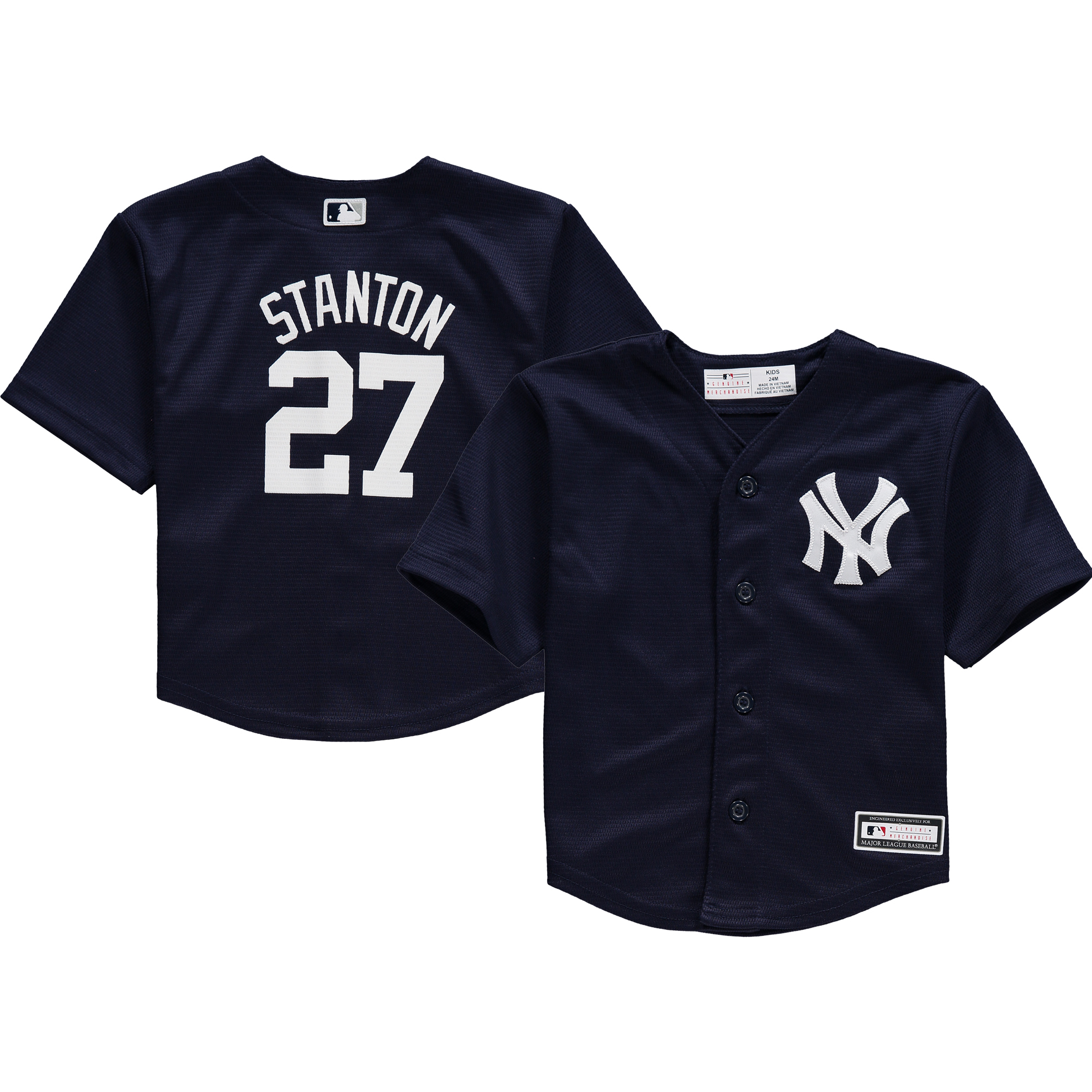 Giancarlo Stanton New York Yankees Infant Replica Player Jersey - Navy