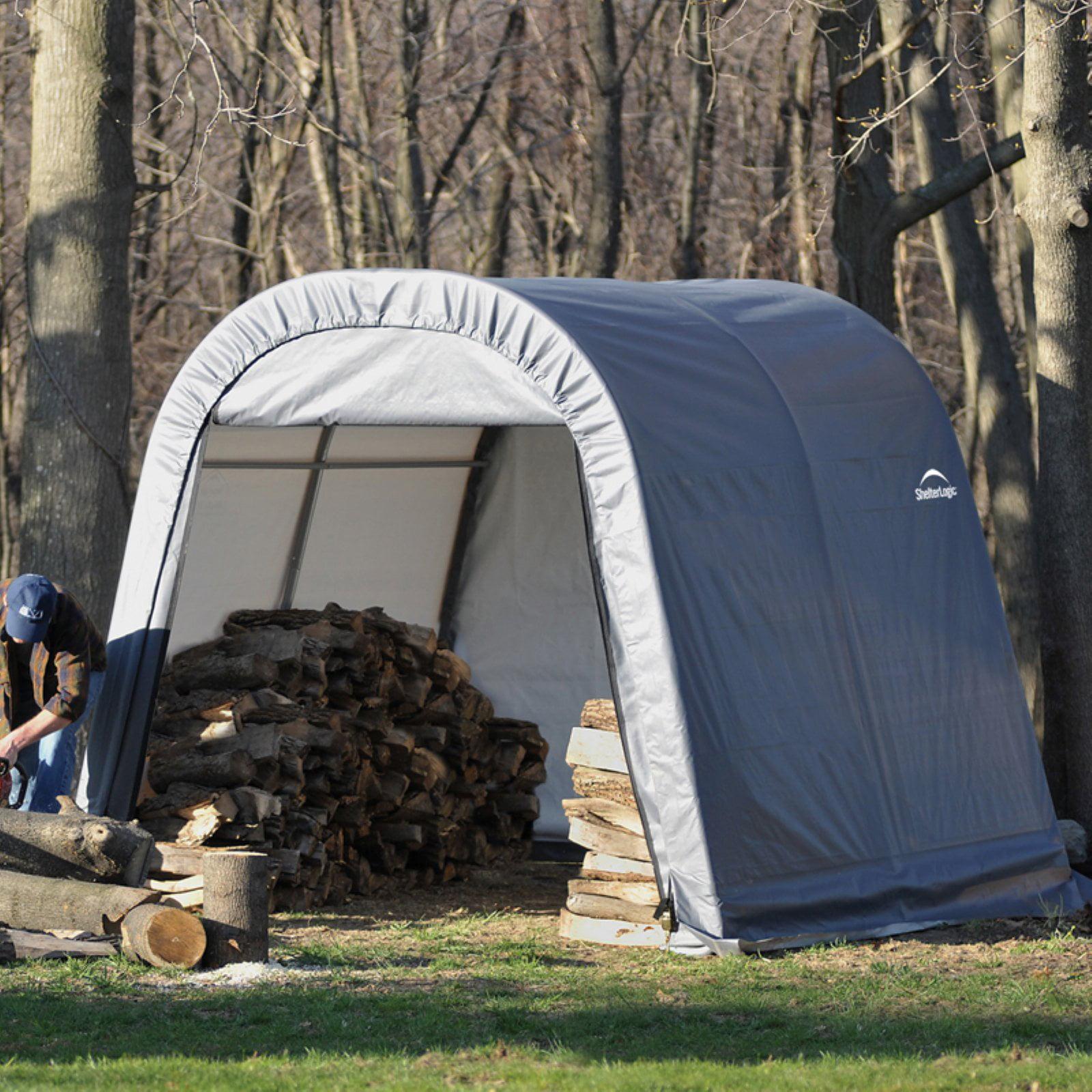 10' x 12' x 8' Round Style Shelter by ShelterLogic