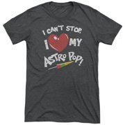 Astro Pop I Heart Mens Tri-Blend Short Sleeve Shirt