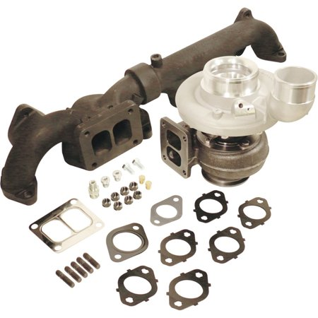 (BD Diesel 1045296 Iron Horse Turbocharger Kit Fits 2500 3500 Ram 2500 Ram 3500)