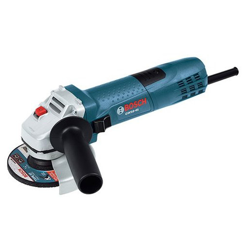 Bosch GWS8-45 4.5 Inch 11000 RPM Hand Angle Grinder Tool (Certified Refurbished)