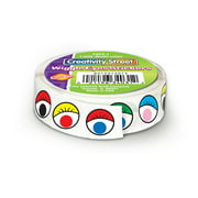 Wiggle Eyes Sticker Roll, Multicolor