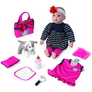 """My Sweet Love 18"""" Baby Doll Gift set with Puppy"""