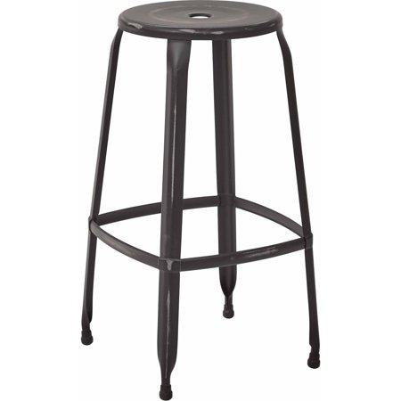 Osp Designs  Newark 30   Metal Barstool  2 Pack  Fully Assembled