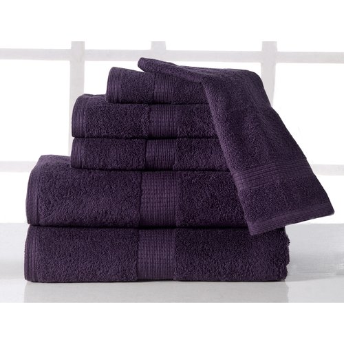 Affinity Linens Supersoft Plush 6 Piece Towel Set