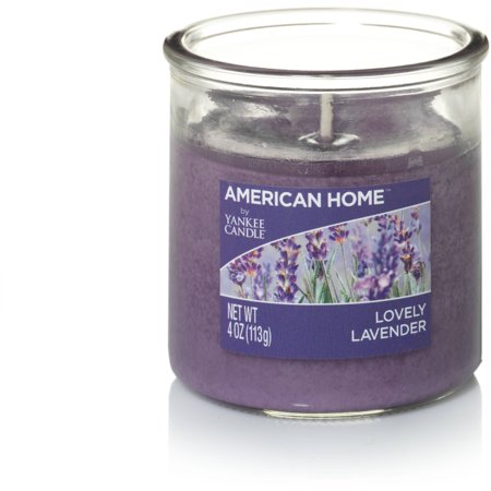 American Home by Yankee Candle 4-oz Small Tumbler, Lovely Lavender