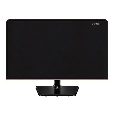Pawtec Flat Screen Monitor Cover - Scratch Resistant Neoprene, Full Body Sleeve - For LED LCD HD Panel