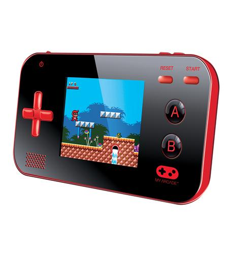 *** DISCONTINUED*** dreamGEAR DGUN-2889 My Arcade Gamer V Portable Gaming System, Red/Black