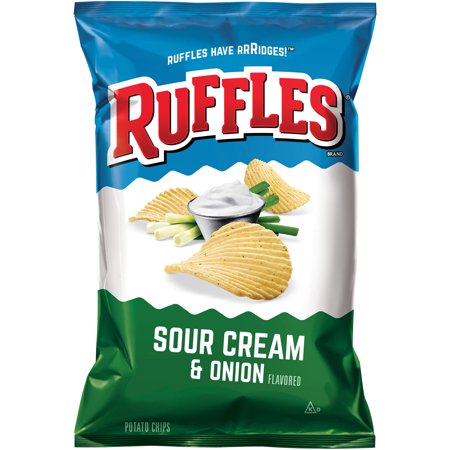 ruffles sour cream onion potato chips 8 5 oz. Black Bedroom Furniture Sets. Home Design Ideas