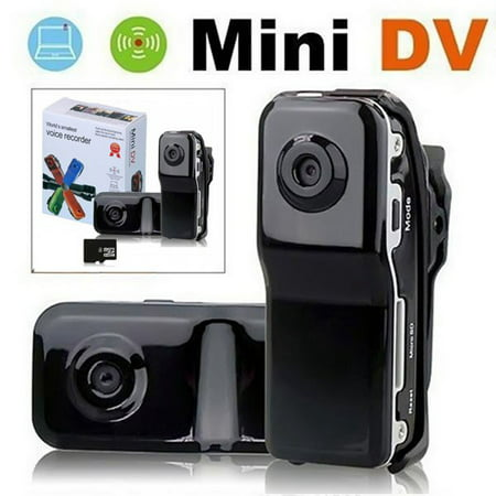 - Mini Camera 720 * 480 Portable Nanny Cam Video Recorder Support 8G TF Card, Pocket Body Cam for Home and Office