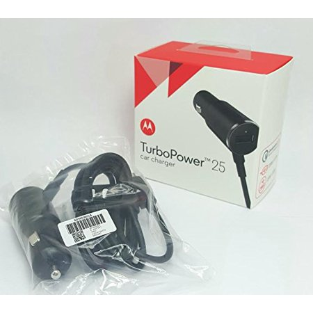 Original Motorola Spn5905a Chr 0548 Turbopower 25 Dual Port Rapid Car Charger Qualcomm Quick Charge 2 0   100  Oem   Brand New In Retail Packaging