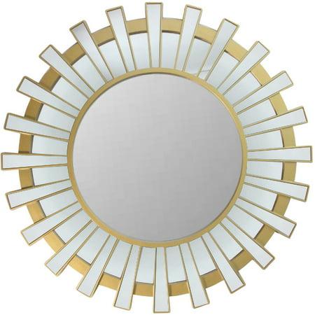 Double Gradient Gold Mirror - 25.5