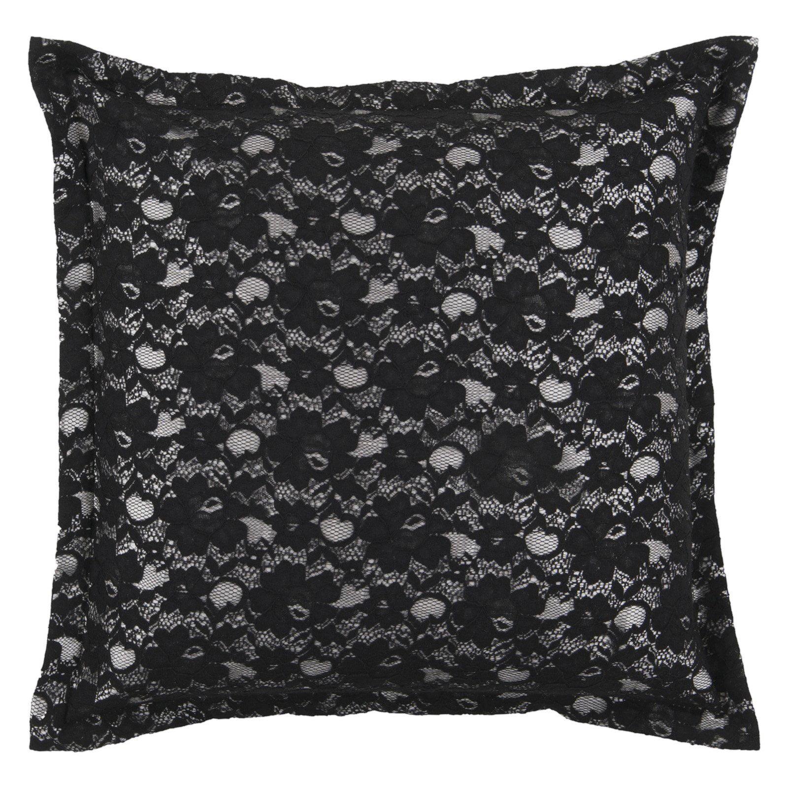 Surya Bordello Decorative Pillow - Caviar