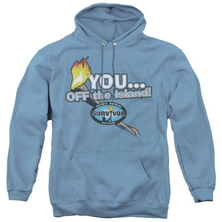 Survivor - You Off The Island - Pull-Over Hoodie - Medium