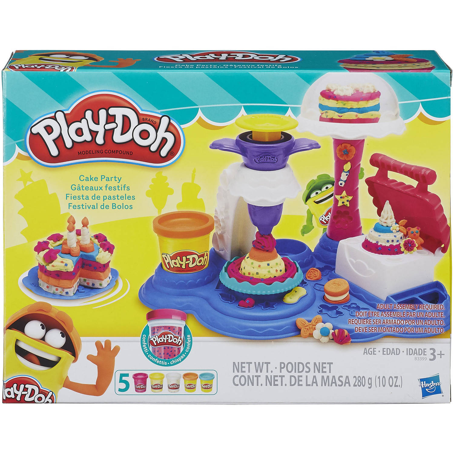 Play-Doh Cake Party Food Set