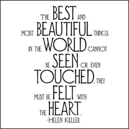Best & Most Beautiful - Helen Keller Black and White