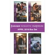 Harlequin Romantic Suspense April 2018 Box Set - eBook