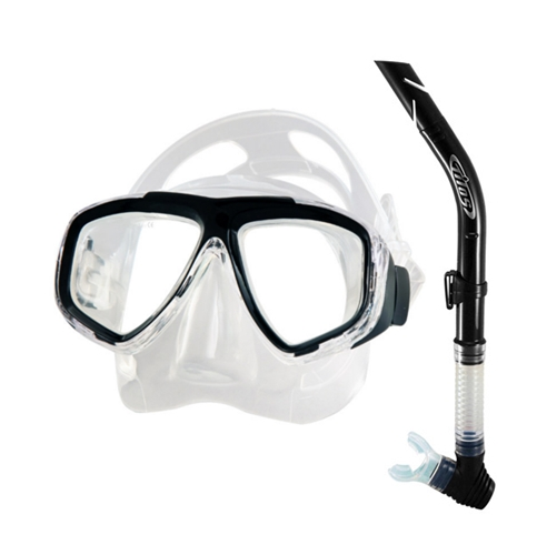Tilos Fantasia Mask and Splash Snorkel (Yellow) by Tilos