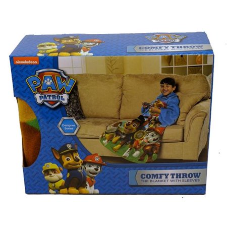 The Northwest Co 1PAW-02300-0001-RET Nickelodeon Paw Patrol, Race to Rescue Youth Fleece Comfy Throw - image 1 of 1