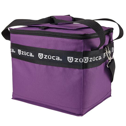 Zuca CoolZuca Cooler - Keeps Contents Hot or Cold (Purple, #725)