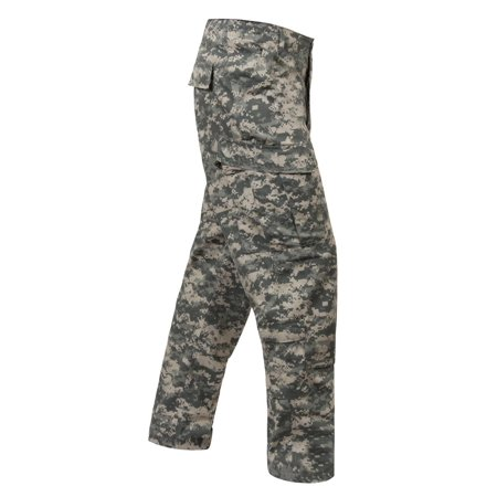 ACU Style Woodland Digital Camo Pants, MARPAT Camouflage Mag Acu Camo