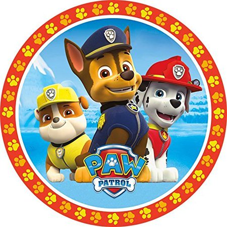 Paw Patrol Characters Edible Frosting Image Cake Topper- 8 Inches Round - Character Cake Toppers