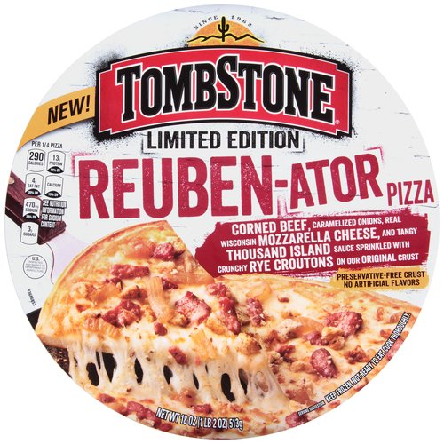 Tombstone Limited Edition Reuben-ator Pizza, 18 oz