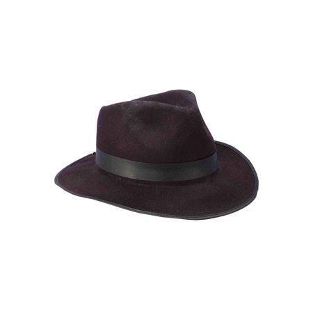 Gangster Hat (Black) (Black Ganster)