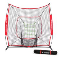 Rukket 7x7 Sock It! Baseball & Softball Practice Net with Adjustable Target