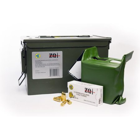 Zqi Ammunition - 9mmx19 Pistol Cartridge