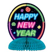 Beistle 88218 Happy New Year Centerpiece, 10-Inch, 1 Per Package