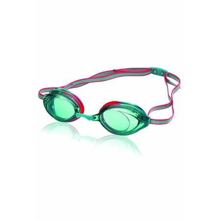 Jr. Vanquisher 2.0 Swim Goggles, Turquoise Tye-Dye, One Size, Excellent competitive and training goggle that features soft silicone seals By