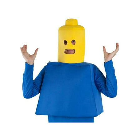 Adult Building Block Man Costume - Cock Block Costume