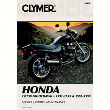 Clymer Manuals M436  M436; Honda Cb750 Nighthawk Motorcycle Repair Service Manual