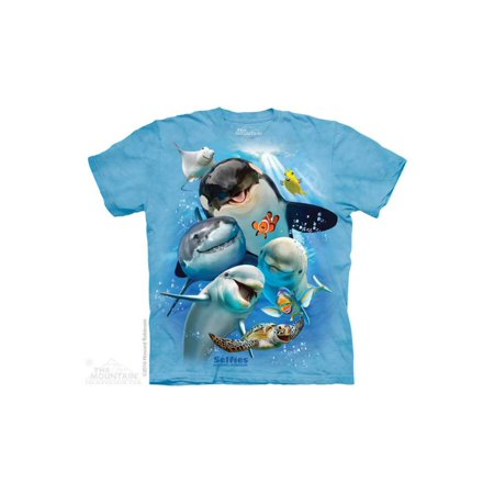 The Mountain Ocean Selfie - Ch Big Boys T-Shirt Tee