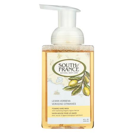 South Of France Hand Soap - Foaming - Lemon Verbena - 8 oz - 1 each