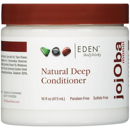 EDEN BodyWorks JojOba Monoi All Natural Deep Conditioner, 16 fl (The Best Deep Conditioner For Natural Hair)