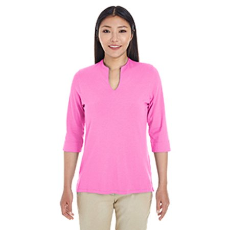 Devon & Jones Ladies' Perfect Fit™ Tailored Open Neckline Top