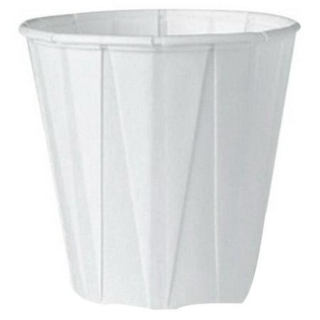 Genpak Harvest Compostable Paper Souffle Cup White 2 oz. | 5000/Case - Souffle Cups