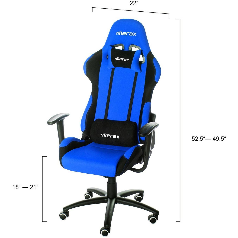Merax Ergonomic Race Car fice Chair Walmart