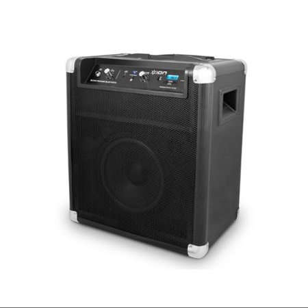 Refurbished ION Block Rocker Bluetooth Portable Speaker System with  extended 75 hour battery and range