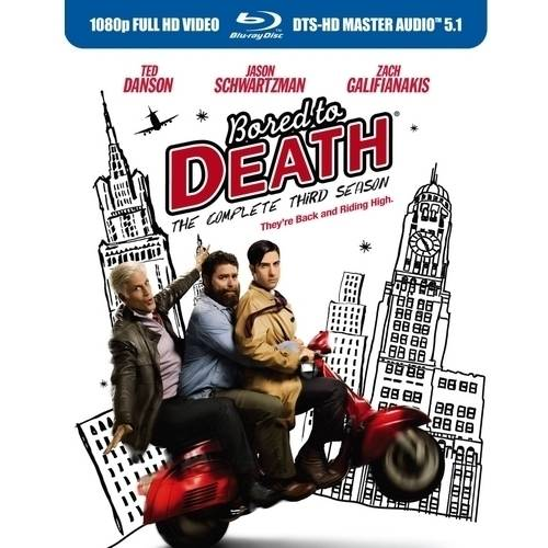 Bored To Death: The Complete Third Season (Blu-ray)
